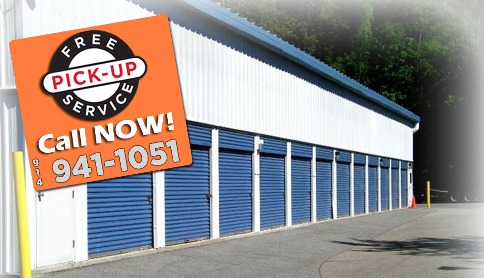 Free pickup from Briarcliff Self Storage
